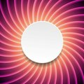 Smooth purple swirl background with circle Royalty Free Stock Photo