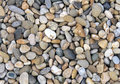 Smooth river stone background pebbles and stones abstract composition Royalty Free Stock Photos