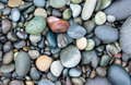 Smooth stones background on the rialto beach in olympic national park washington Stock Photography