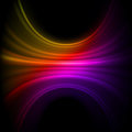 Smooth technology light lines background. Stock Photography