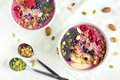 Smoothie bowl Royalty Free Stock Photo