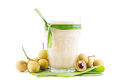 Smoothie tropical de longan Photo libre de droits