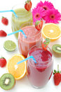 Smoothies Stock Foto