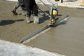 Smoothing Concrete With Gas Po...