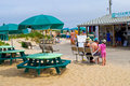 Snack bar cape cod massachusetts usa–june a family near the at nauset beach on july nauset beach is a popular beach on cape cod Royalty Free Stock Photography
