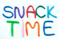 Snack Time Royalty Free Stock Photo