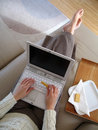 image photo : Snack and Work