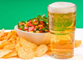Snacks and Beer Royalty Free Stock Image