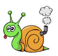 Snail 01 Royalty Free Stock Photo