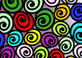 Snail colorful Royalty Free Stock Image