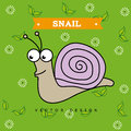 Snail design Royalty Free Stock Photos