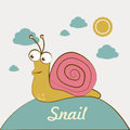 Snail design Royalty Free Stock Photo