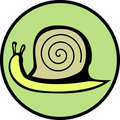 Snail illustration. Vector format available. Stock Photography