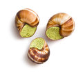 Snails with butter and parsley Royalty Free Stock Image
