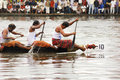 The snake boat races of Kerala Stock Photo
