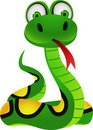 Snake cartoon Stock Photography