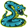 Snake icon for logo and mascot
