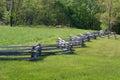 Snake Rail Fence- Blue Ridge Parkway, Virginia, USA Royalty Free Stock Photo
