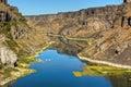 Snake River Canyon Royalty Free Stock Photo