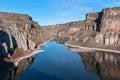 Snake River Canyon, Idaho Royalty Free Stock Photo