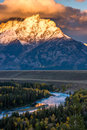 Snake River Overlook Royalty Free Stock Photo