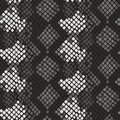 Snake skin artificial seamless vector texture. Royalty Free Stock Photo
