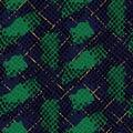Snake skin green artificial seamless vector texture.