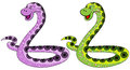 The snake symbol in 2013 Royalty Free Stock Photo