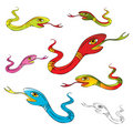 Snake vector illustration Stock Photography