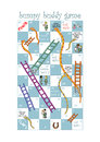 Snakes ladders game design pregnant women nurses Royalty Free Stock Images