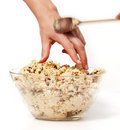 Sneak Cookie Dough Royalty Free Stock Photo