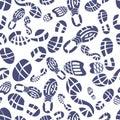 Sneaker tread pattern