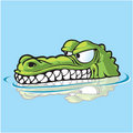Sneaky Gator Royalty Free Stock Photo