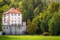 Sneznik Castle, Slovenia Royalty Free Stock Photo