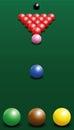 Snooker Starting Position Break Shot