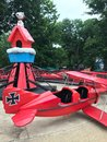Snoopy and Red Baron Ride at Camp Snoopy in Carowinds, Charlotte, NC Royalty Free Stock Photo