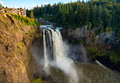 Snoqualmie Falls wide Royalty Free Stock Photo