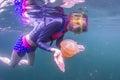 Šnorchlovanie v medúza