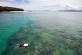 Snorkeling Royalty Free Stock Photo
