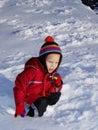 Snow Stock Image
