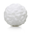 Snow ball isolated Royalty Free Stock Photo