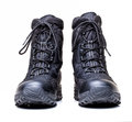 Snow boots closeup image of modern Royalty Free Stock Images