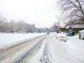 Snow in Bucharest