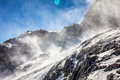 Snow Cascade