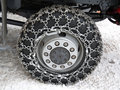 Snow chains Stock Photography