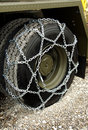 Snow chains Royalty Free Stock Photography
