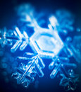 Snow crystal Royalty Free Stock Photo