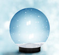 Snow Dome Royalty Free Stock Photo