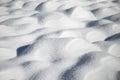 Snow Dunes Royalty Free Stock Photo
