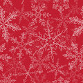 Snow fake pattern christmas seamless holidays background Royalty Free Stock Photos